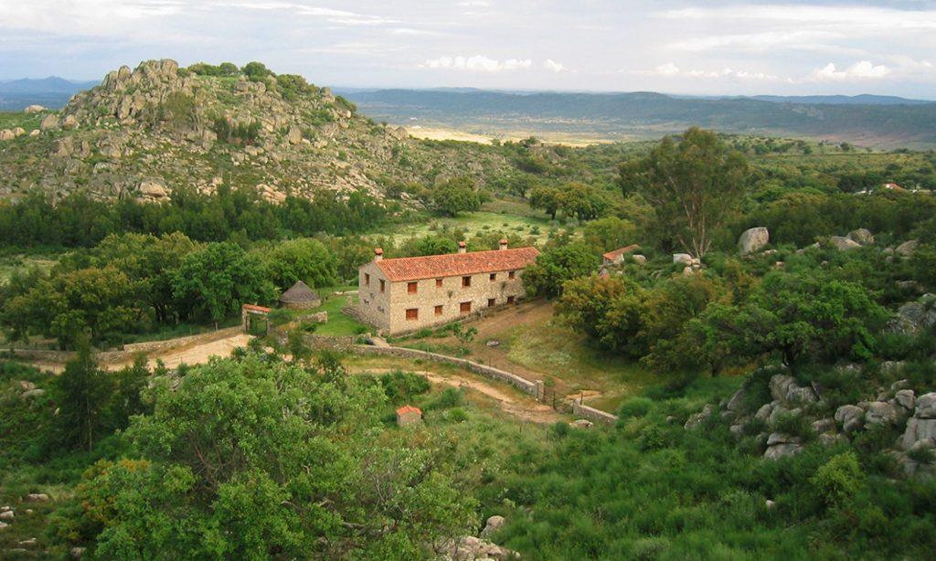 Vista General Casa rural Virgen de la Cabeza