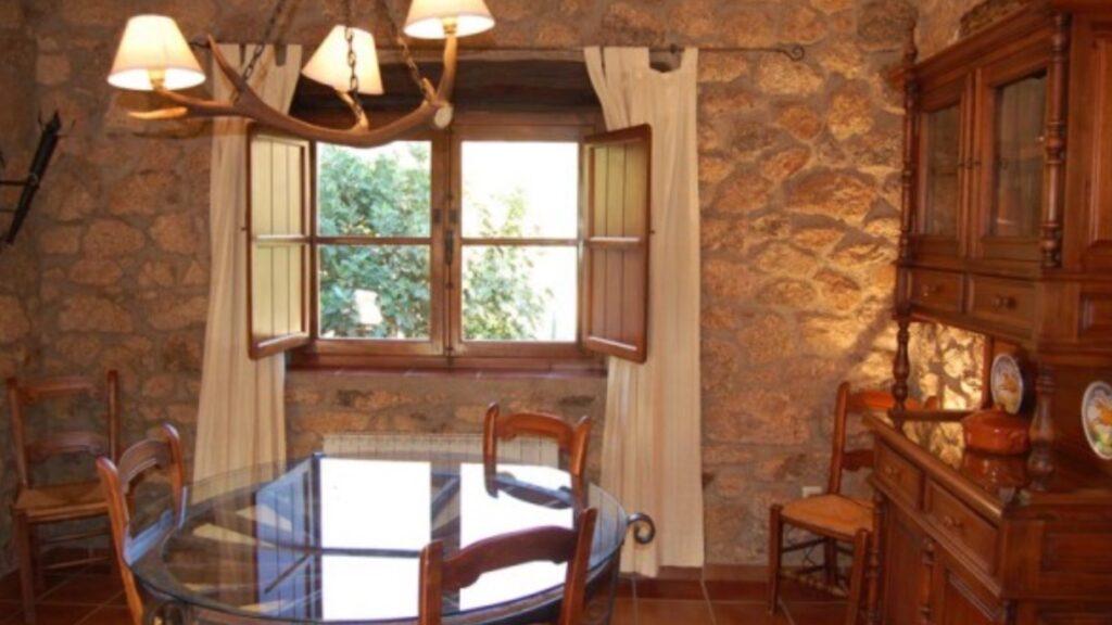 Salón-comedor de Casa rural Virgen de la Cabeza