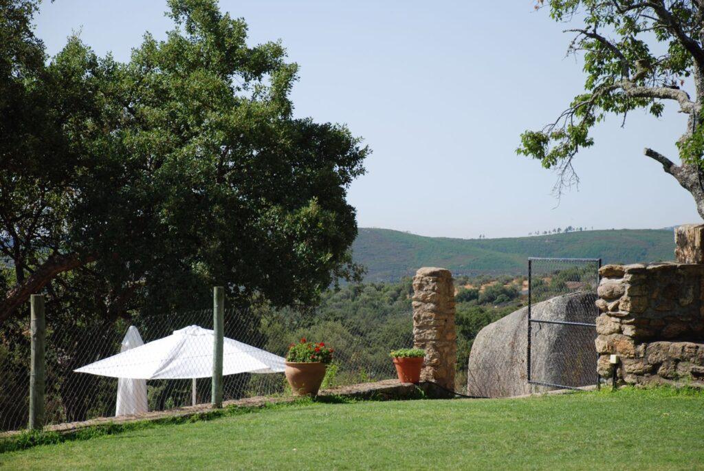 Paisaje casa rural Virgen de la Cabeza