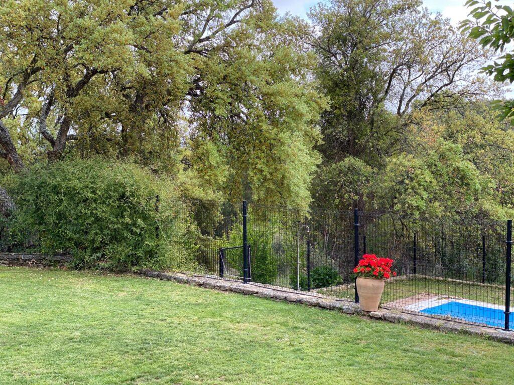 Jardín Casa rural Virgen de la Cabeza