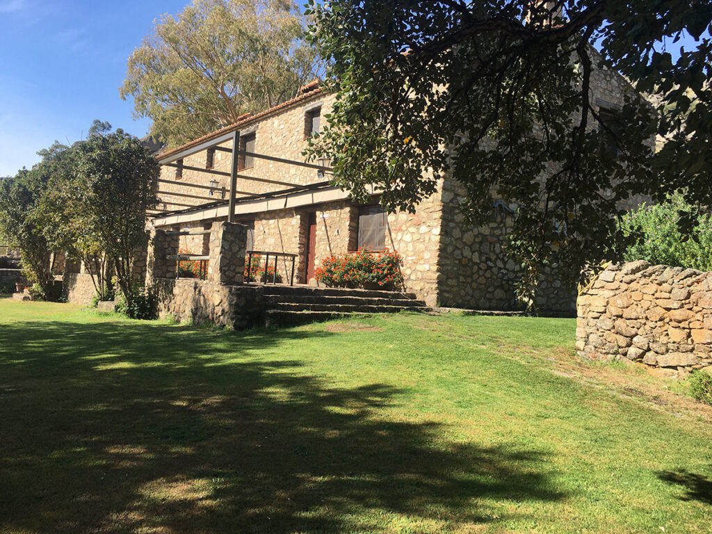 Vista Exterior casa rural Virgen de la Cabeza